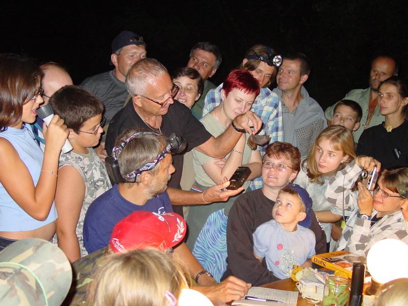 Netopyri noc v Mikulove 2003